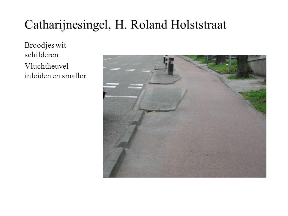 Catharijnesingel, H. Roland Holststraat