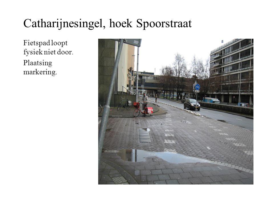 Catharijnesingel, hoek Spoorstraat