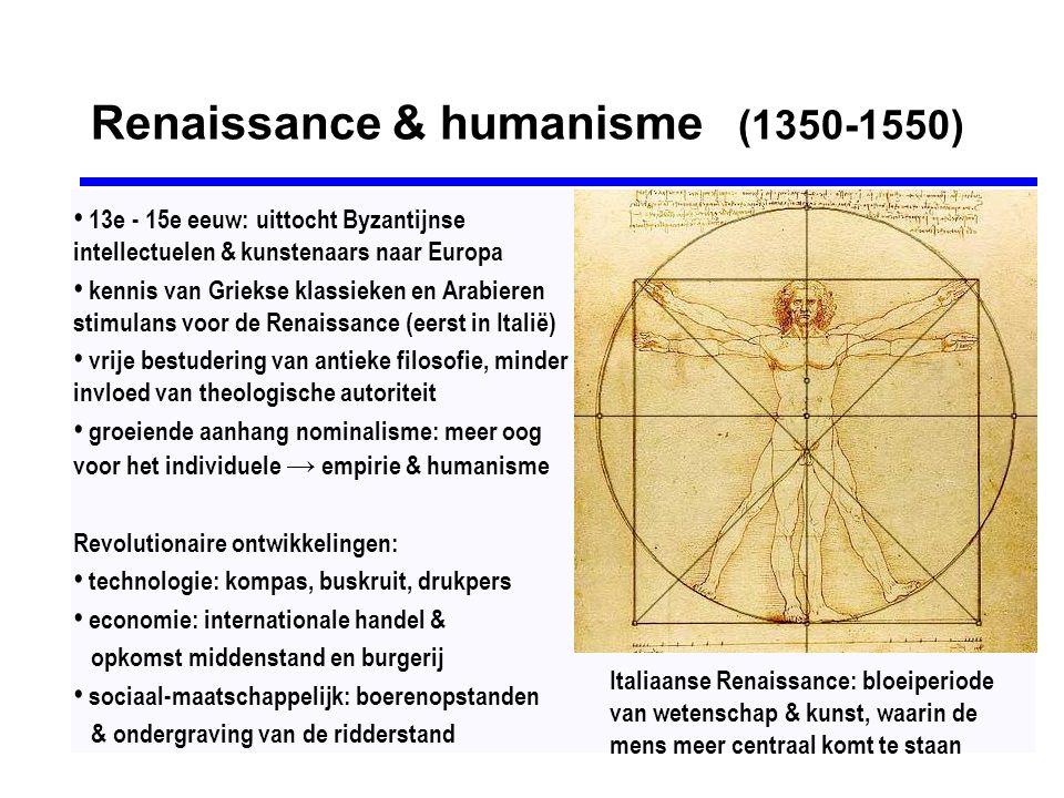 Renaissance & humanisme (1350-1550)
