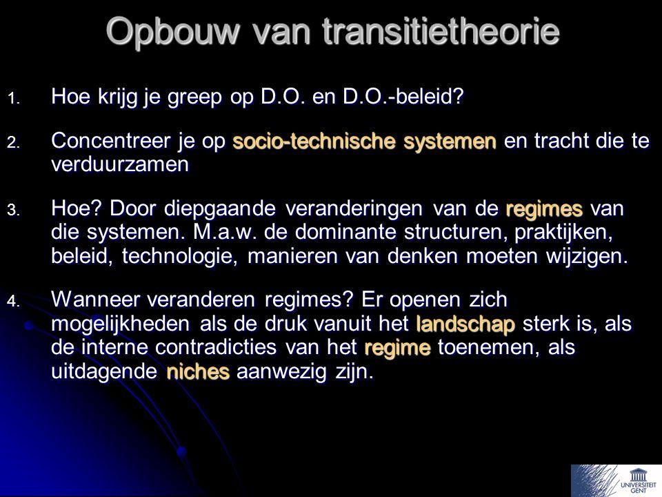 Opbouw van transitietheorie