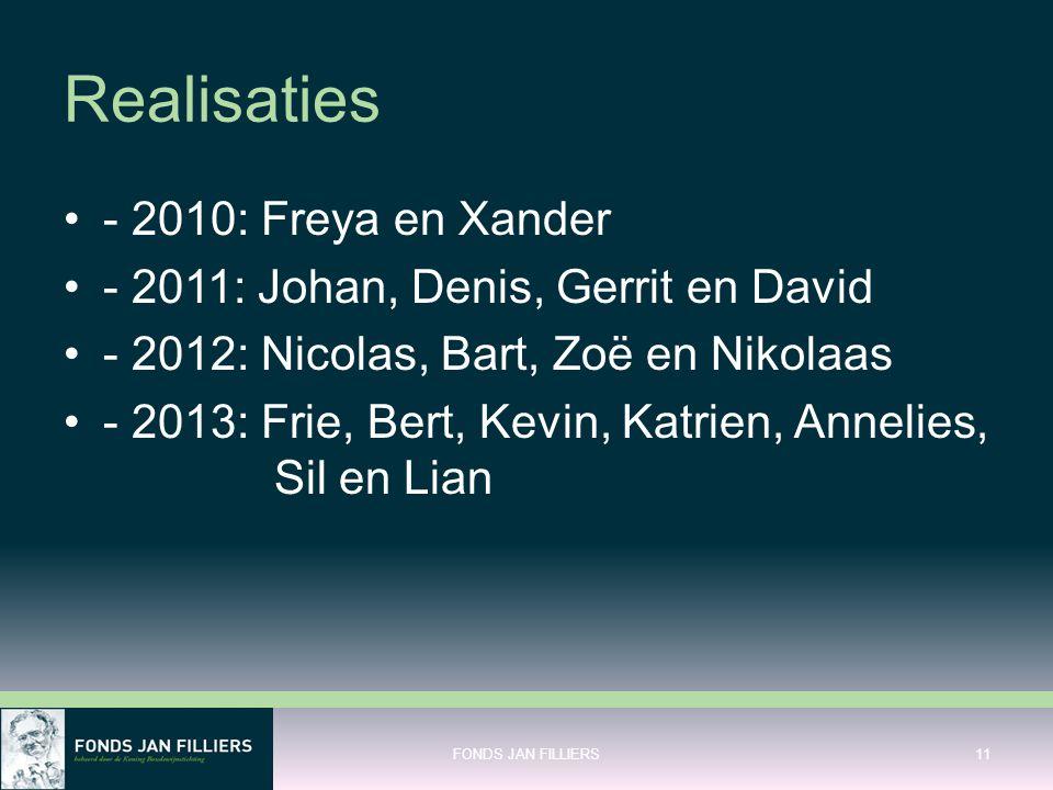 Realisaties - 2010: Freya en Xander