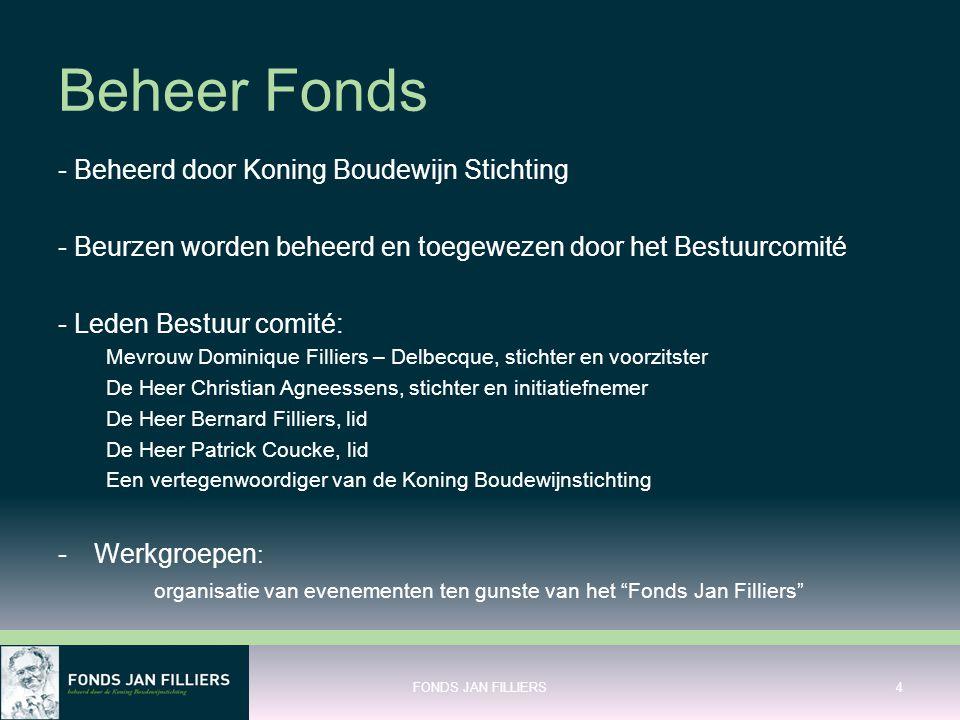 Beheer Fonds - Beheerd door Koning Boudewijn Stichting