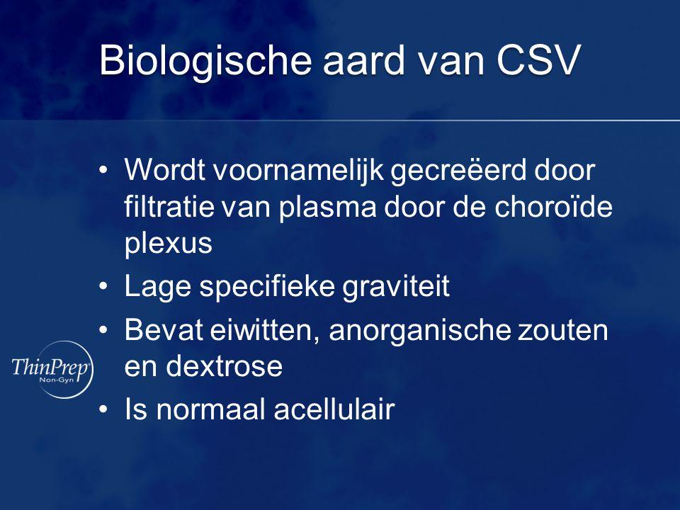 Biologische aard van CSV