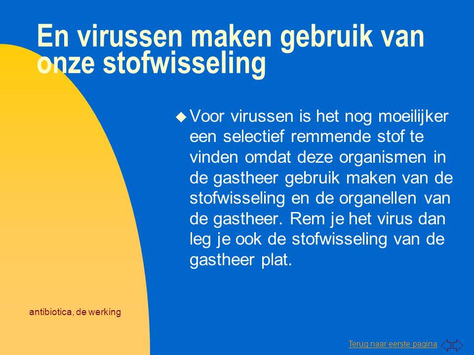 En virussen maken gebruik van onze stofwisseling