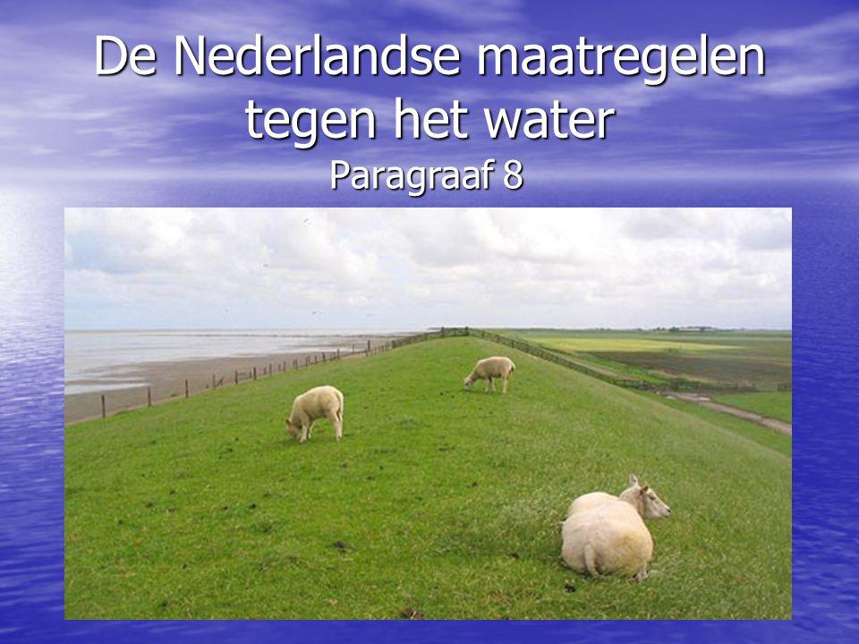 De Nederlandse maatregelen tegen het water