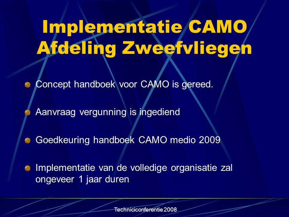 Implementatie CAMO Afdeling Zweefvliegen