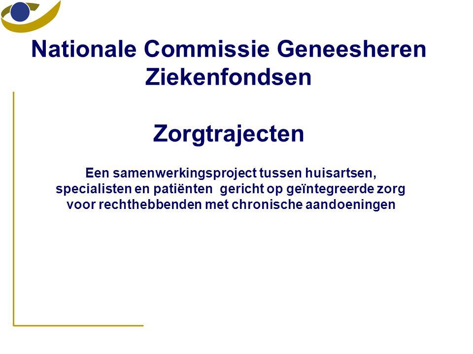 Nationale Commissie Geneesheren Ziekenfondsen Zorgtrajecten