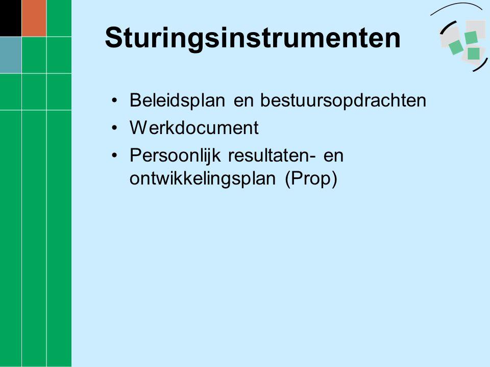 Sturingsinstrumenten