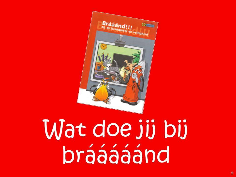 Wat doe jij bij brááááánd