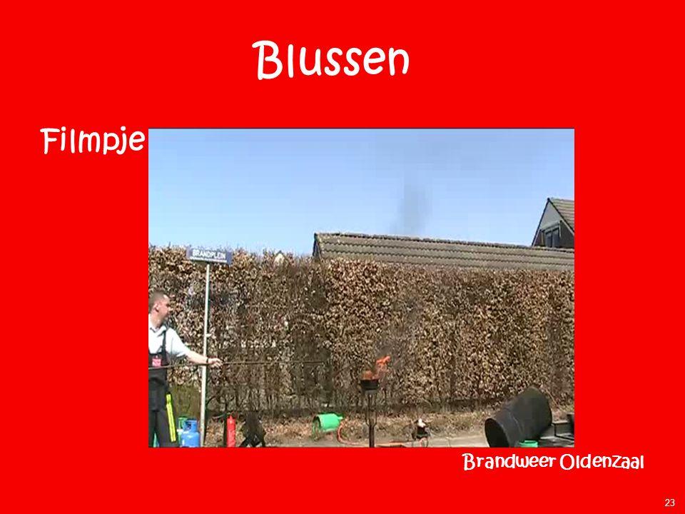 Blussen Filmpje Brandweer Oldenzaal Aanwijzingen: