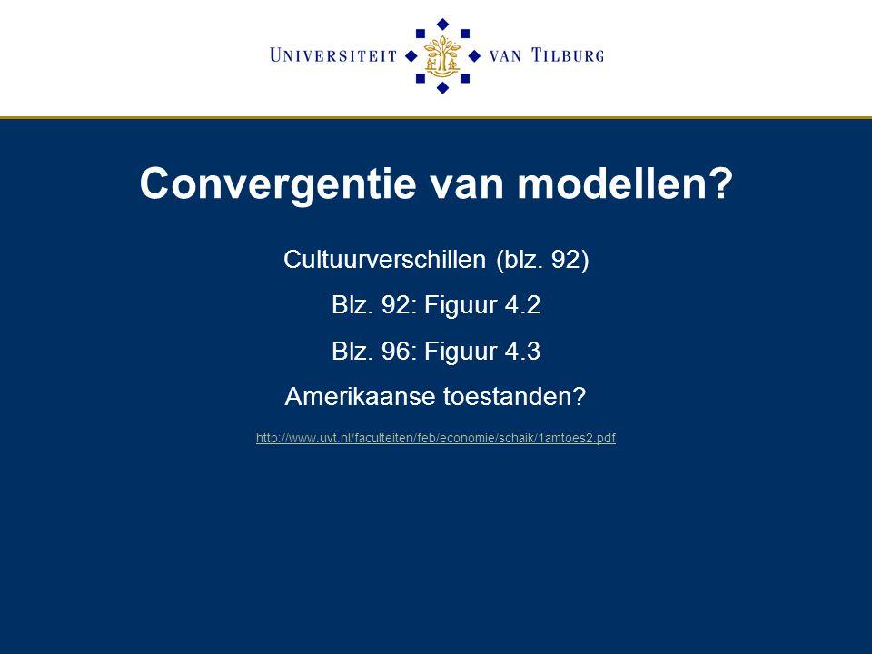 Convergentie van modellen