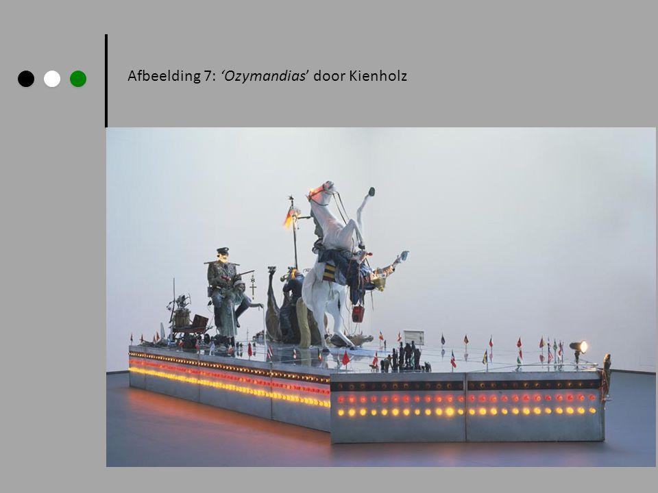 Afbeelding 7: 'Ozymandias' door Kienholz