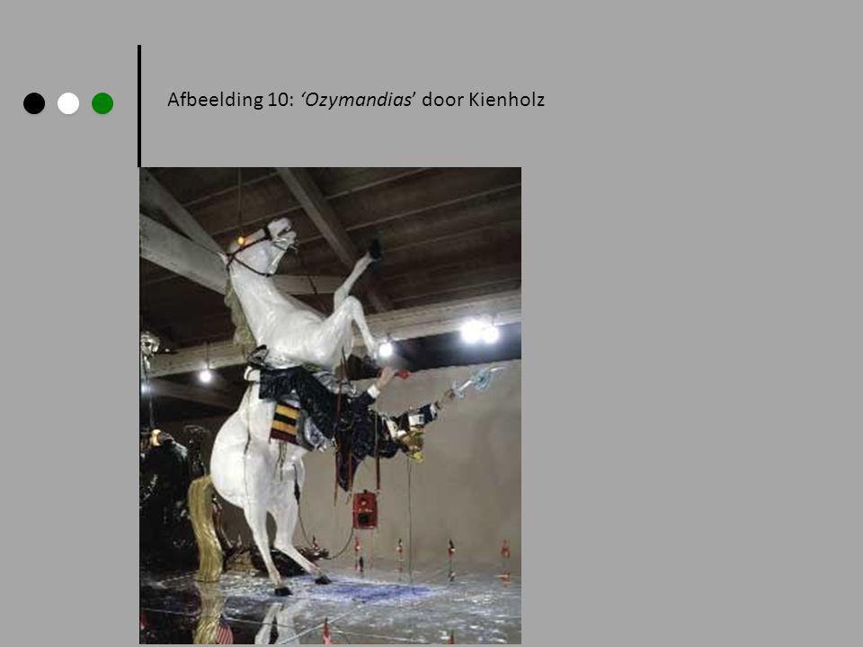 Afbeelding 10: 'Ozymandias' door Kienholz