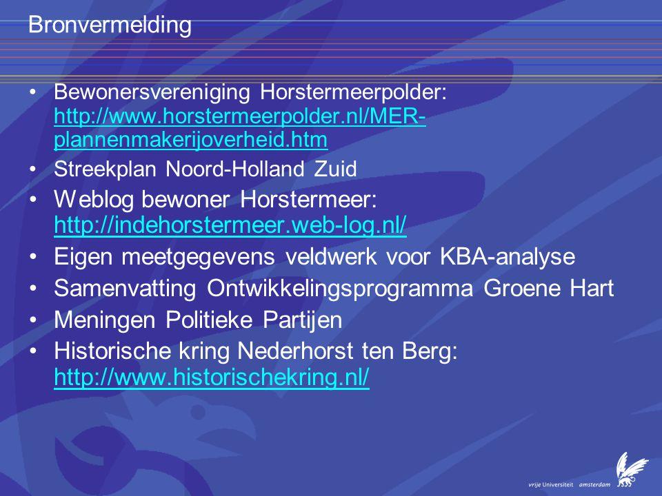 Weblog bewoner Horstermeer: http://indehorstermeer.web-log.nl/