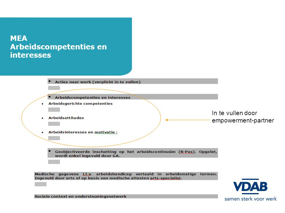 Arbeidscompetenties en interesses