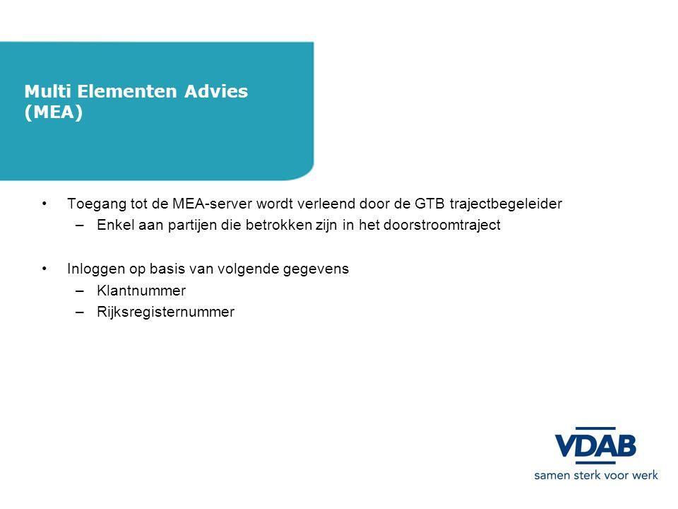 Multi Elementen Advies (MEA)