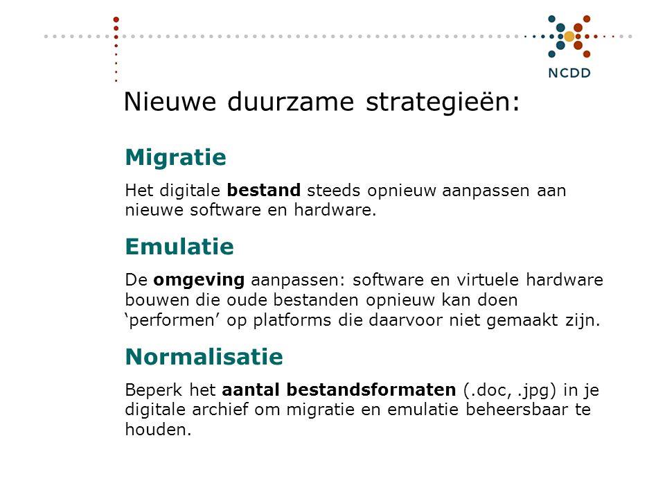 Nieuwe duurzame strategieën: