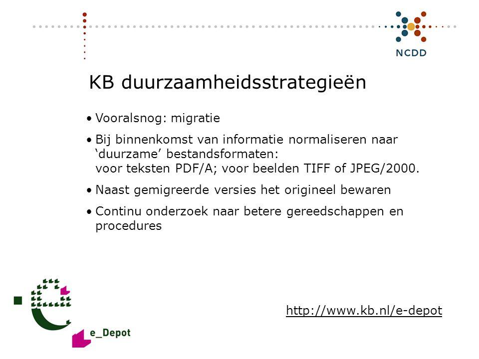 KB duurzaamheidsstrategieën
