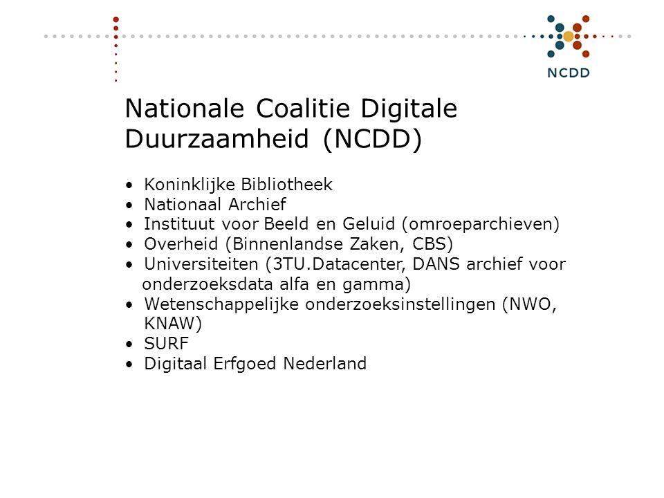 Nationale Coalitie Digitale Duurzaamheid (NCDD)