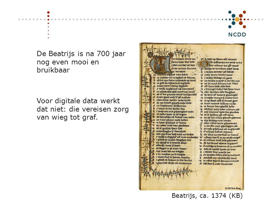 De Beatrijs is na 700 jaar nog even mooi en bruikbaar