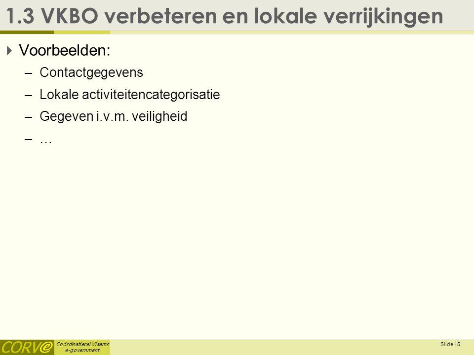 1.3 VKBO verbeteren en lokale verrijkingen
