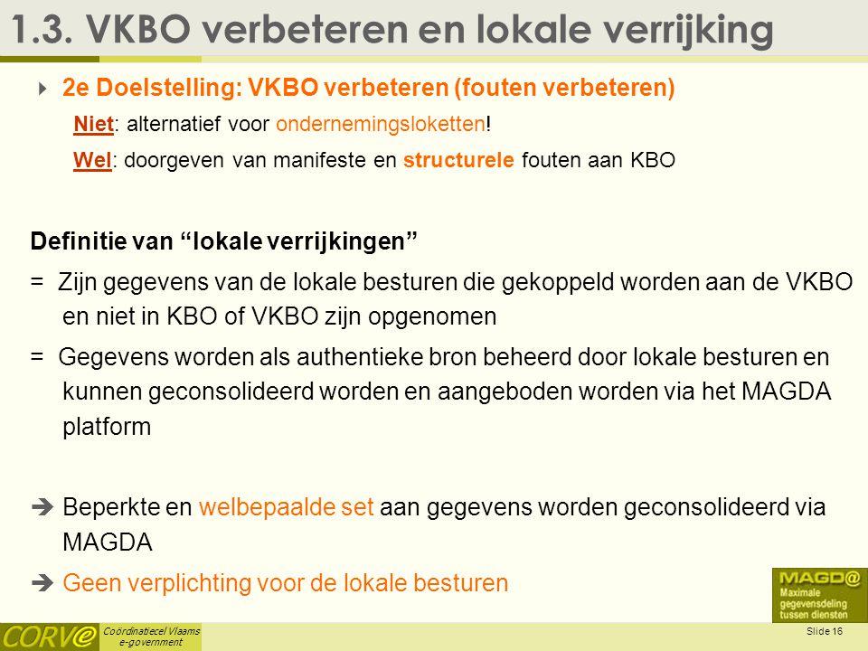 1.3. VKBO verbeteren en lokale verrijking