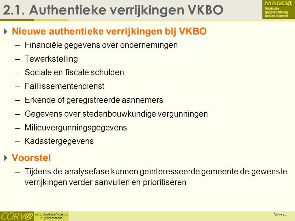 2.1. Authentieke verrijkingen VKBO