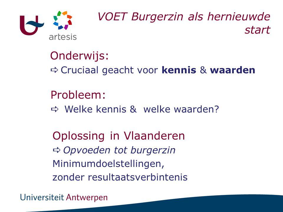 Visies anno 1997: Directies & Leerkrachten S.O. I. Scholen & BSE