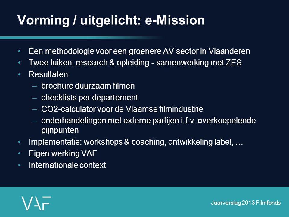 Vorming / uitgelicht: e-Mission