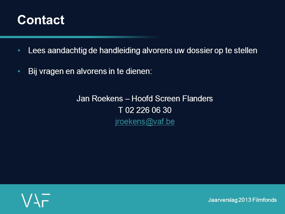 Jan Roekens – Hoofd Screen Flanders