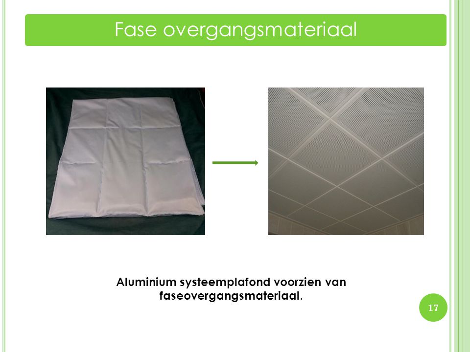 Fase overgangsmateriaal