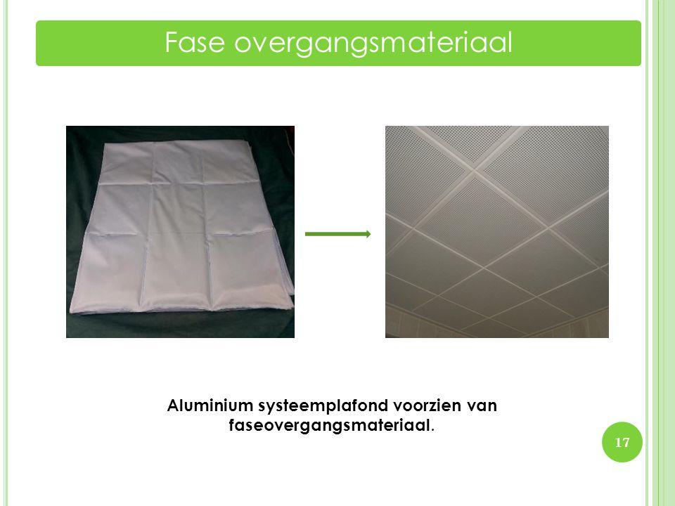 Fase overgangsmateriaal