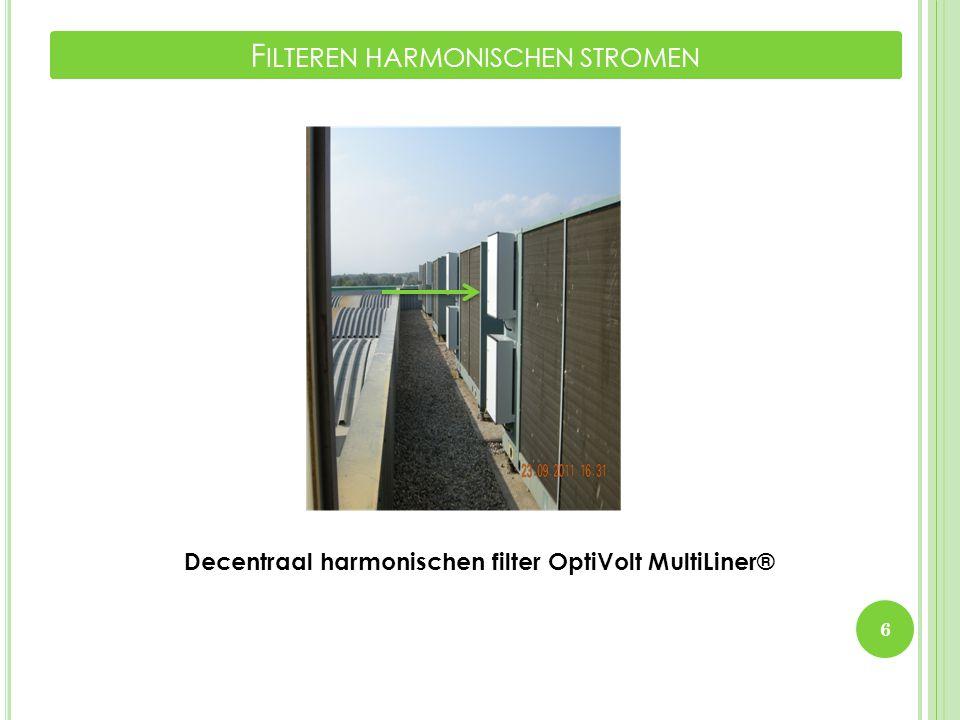 Filteren harmonischen stromen