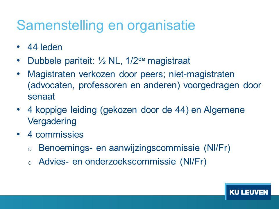 Samenstelling en organisatie