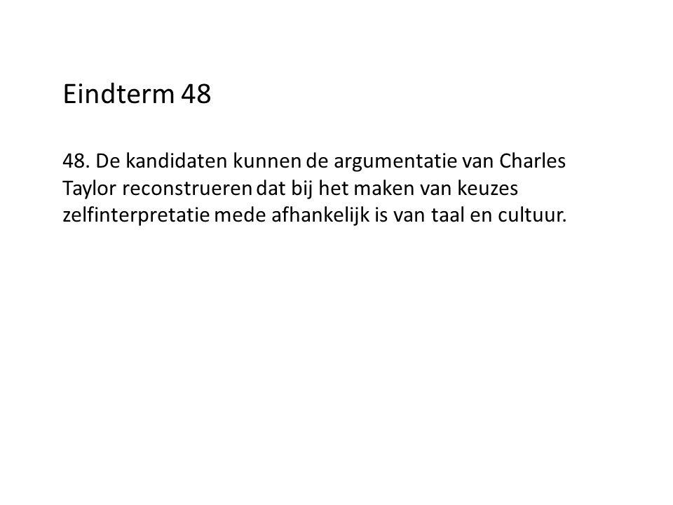 Eindterm 48