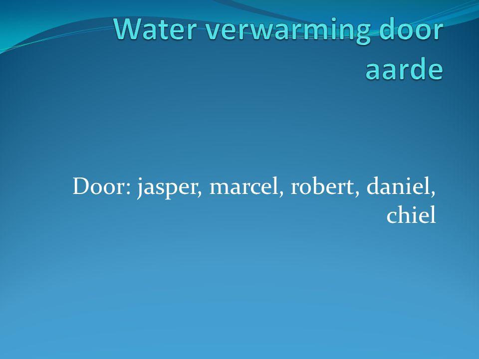 Water verwarming door aarde