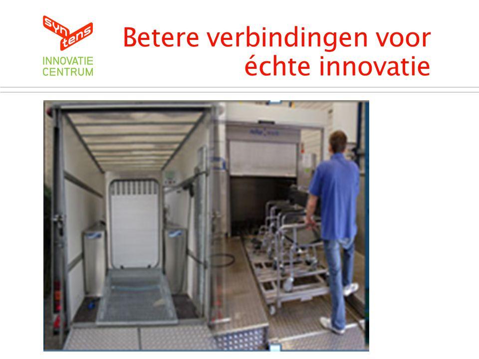Betere verbindingen voor échte innovatie