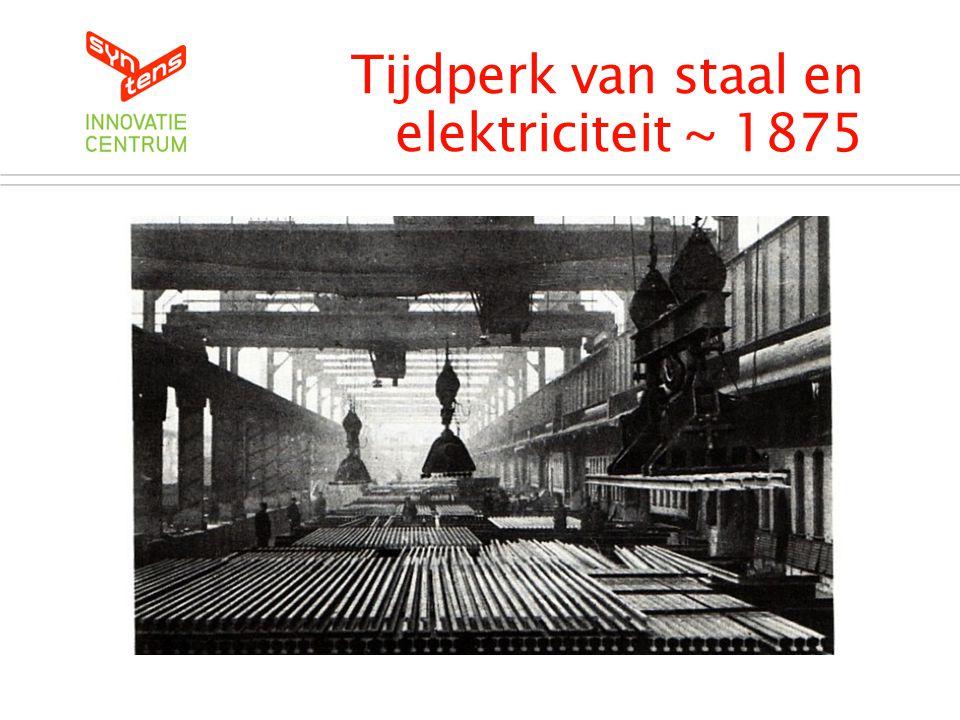 Tijdperk van staal en elektriciteit ~ 1875
