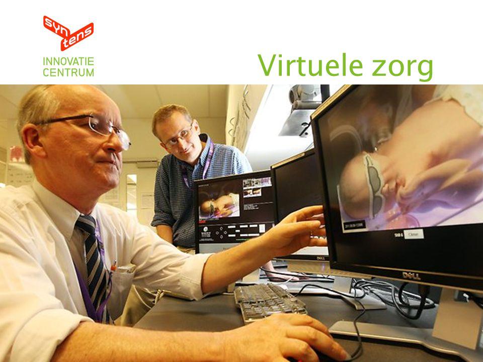 Virtuele zorg Versmelten fysieke en digitale wereld