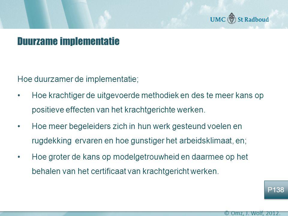 Duurzame implementatie