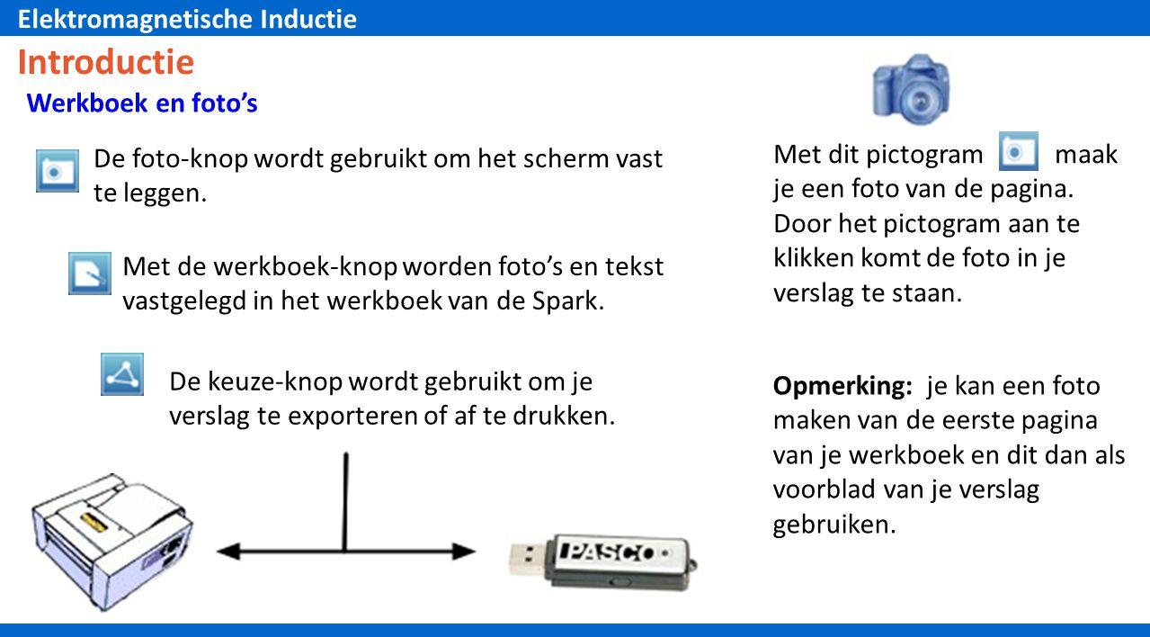 Introductie Werkboek en foto's