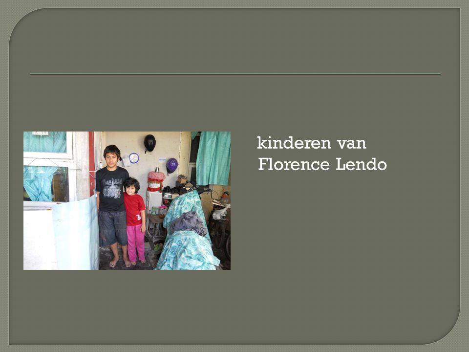 kinderen van Florence Lendo