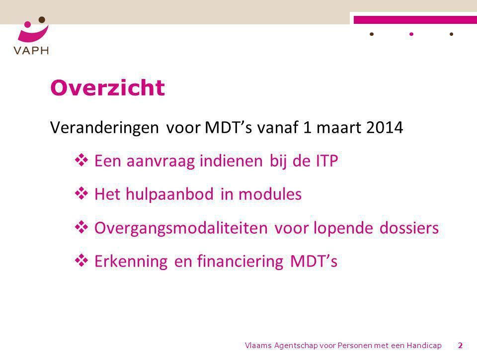 Overzicht Veranderingen voor MDT's vanaf 1 maart 2014