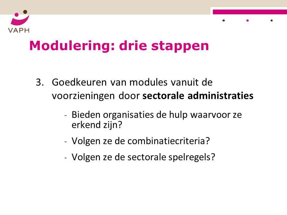 Modulering: drie stappen