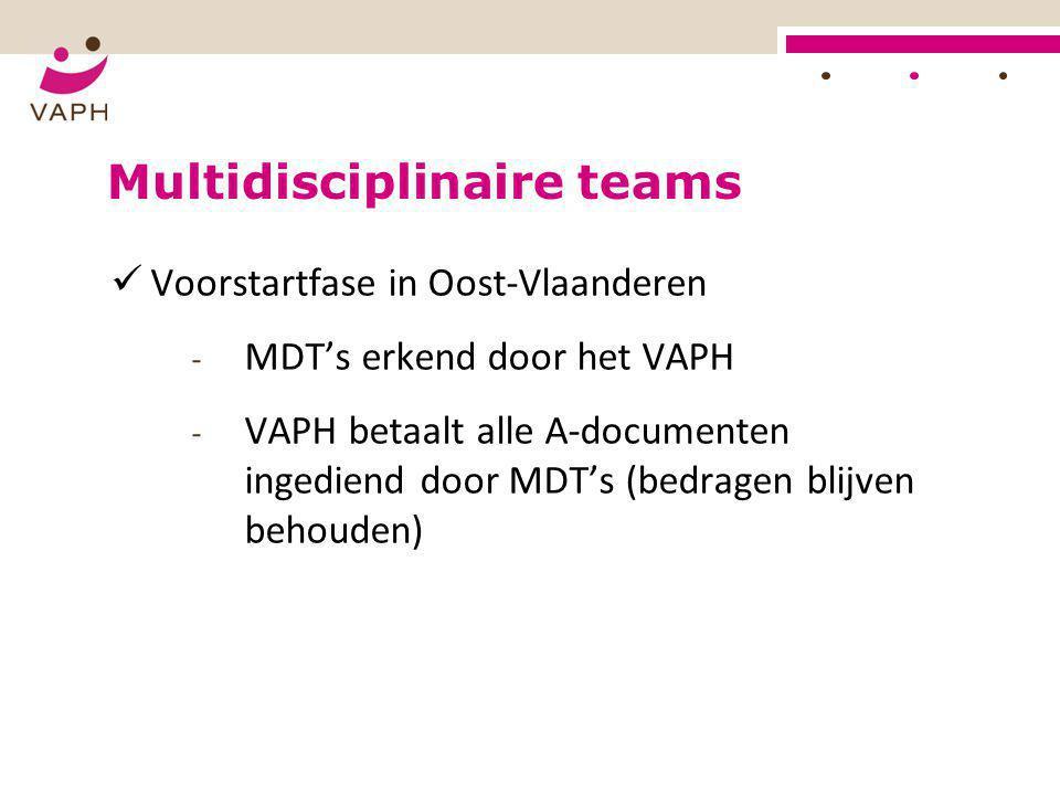 Multidisciplinaire teams