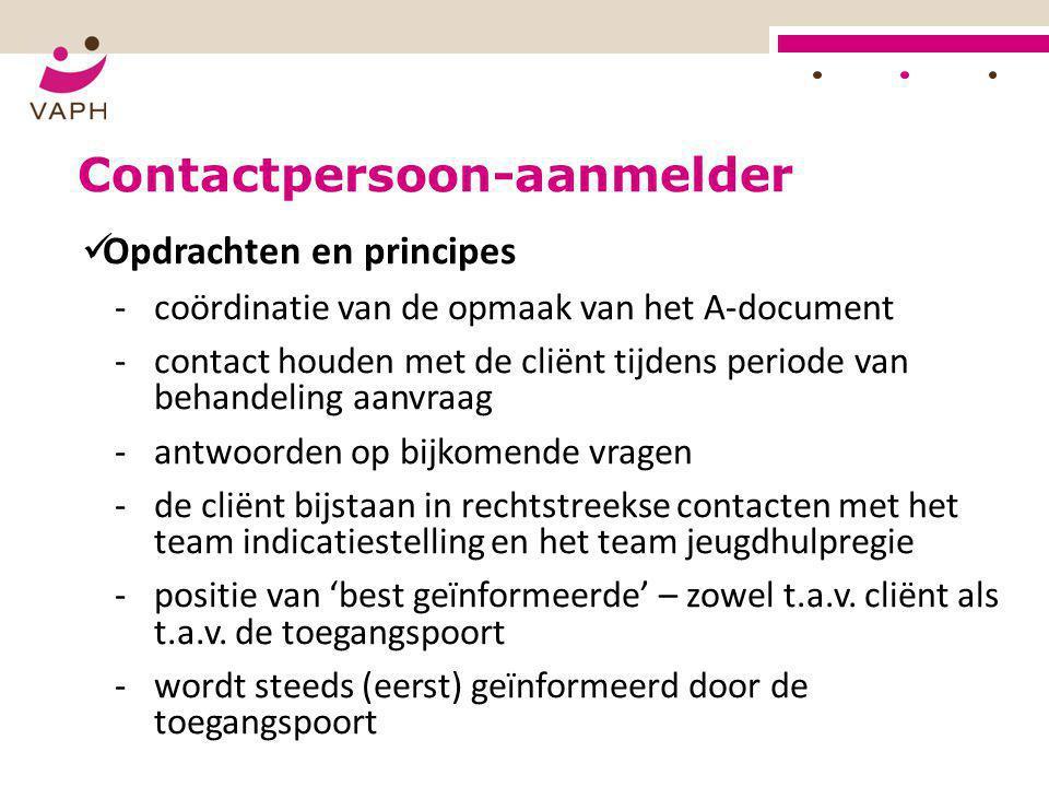 Contactpersoon-aanmelder