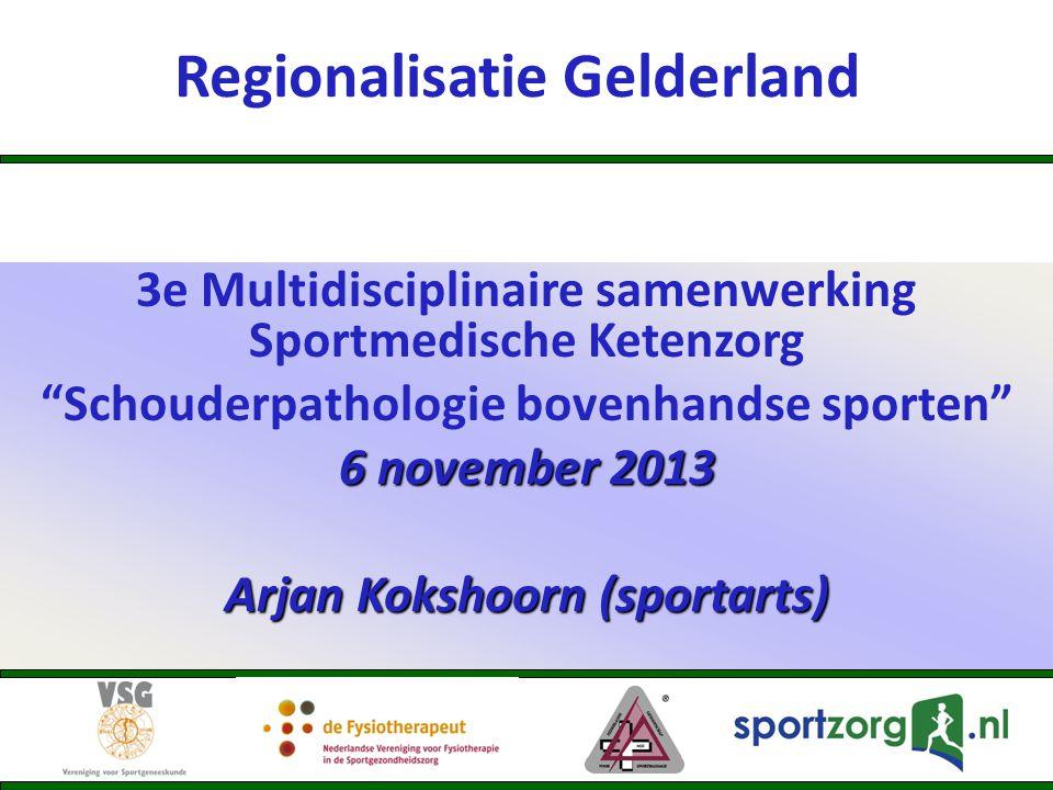 Regionalisatie Gelderland