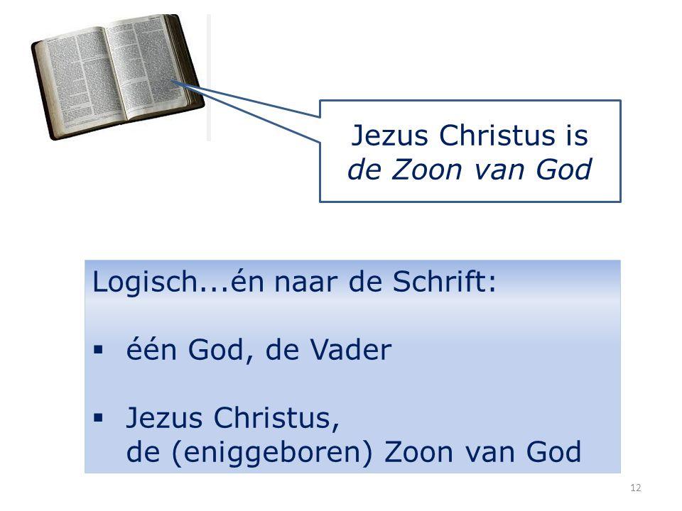 Jezus Christus is de Zoon van God