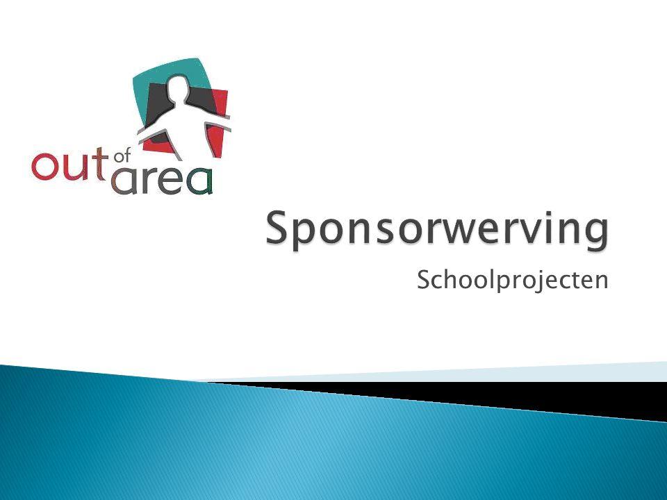 Sponsorwerving Schoolprojecten