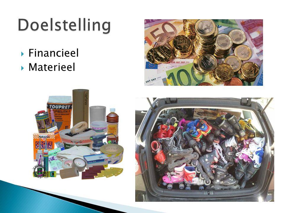 Doelstelling Financieel Materieel